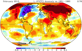 nasa heat map